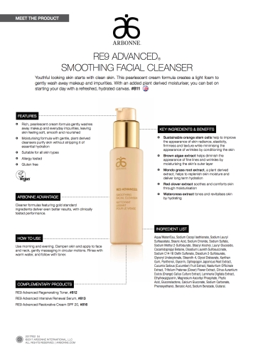 811_UK_RE9_Adv_Smoothing_Facial_Cleanser_MP_Sheet